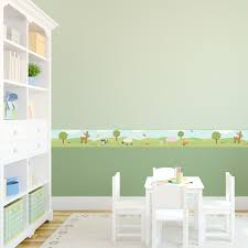 Reusable Wallpaper by Woodland Removable Border