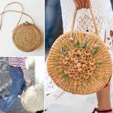 straw handbag trend or cult u2013 consulente di immagine rossella