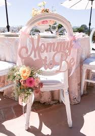 Blush Pink Decor by Mommy To Be Baby Shower Chair Sign In Blush Pink By Www