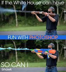 Obama Shooting Meme - image 492317 obama skeet shooting photo know your meme