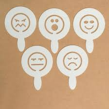 cocoa templates acrylic expressions emojis 5pk u2013 popdigital