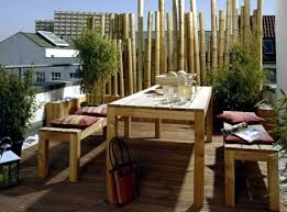 bamboo blinds balcony u2013 design ideas for feng shui style