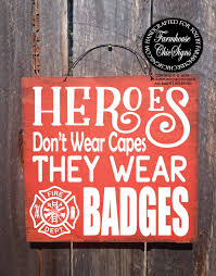 Firefighter Home Decorations Firefighter Firefighter Gift Firefighter Home Firefighter Sign