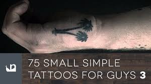 75 small simple tattoos for guys part three