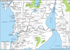 Map Of India Cities Bombay Map