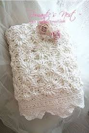 shabby chic crochet blanket google search crochet throws