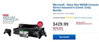 black friday deals on xbox one bestbuy u0027s black friday deals includes microsoft surface xbox one
