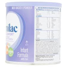 similac total comfort infant formula with iron powder 12 oz