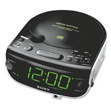 Cd Player For Blind Amazon Com Sony Icf Cd815 Am Fm Stereo Cd Clock Radio With Dual