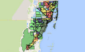 Map Of East Coast Florida by Map Of The Best Places To Live In Miami And Miami Beach