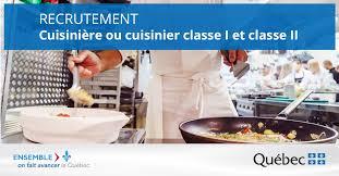 emploi chef cuisine faire carrière comme cuisinier et aide à la cuisine en établissement
