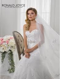 Wedding Dress Ivory Ronald Joyce 18117 Lili Fitted Fishtail Lace Bridal Gown Ivory