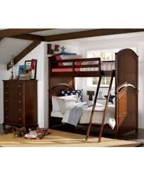 Irvine Kids Twin Over Full Bunk Bed Furniture Macys - Furniture bunk beds