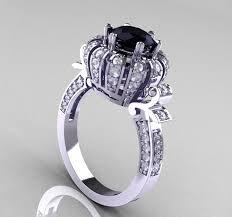 expensive diamond rings black diamond engagement rings