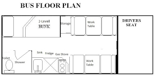 school bus conversion floor plans bus layout ta detroit skoolie