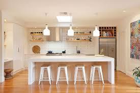 Danish Design Kitchen Monochrome Scandinavian Ideas White Cabinets Black Chair Pendant