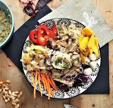 cuisine automne recette du buddha bowl pour une salade d automne la saison en