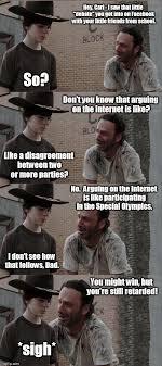 Hey Carl Meme - rick and carl long latest memes imgflip