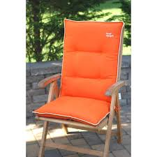 Patio Chairs With Cushions 40 Design Ideas High Back Patio Cushions Furniture Design Ideas