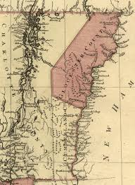 Map Of Vt Vermont Genealogy Resources Map Of Vermont Counties In 1777