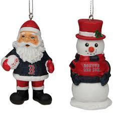 boston sox decorations ornaments santa