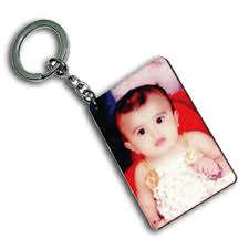 personalized wooden keychains personalized wooden sublimation rectangle keychain at rs 20