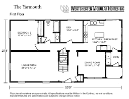 Floor Plans For Cape Cod Homes Yarmouth By Westchester Modular Homes Cape Cod Floorplan