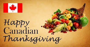 rob prugue on wishing canadians a happy thanksgiving