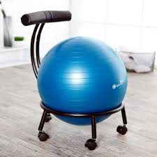 Desk Chair Workout How To Exercise Ball Chair U2014 The Wooden Houses
