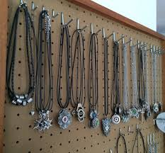 necklace storage display images Jewelry display tips home business organization ideas loralyn JPG