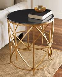 Small Black Accent Table Best 25 Gold Side Tables Ideas On Pinterest Gold Nightstand