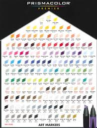 prismacolor markers prismacolor markers chart of fashion
