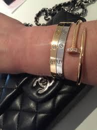 silver love bangle bracelet images Cartier love bracelet discussion thread page 346 purseforum 34403
