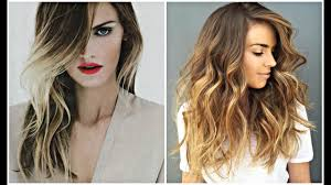 2017 balayage hair color ideas ombre highlights u0026 more youtube