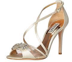 Wedding Shoes Sandals Badgley Mischka Designer Bridesmaid Shoes And Wedding Shoes