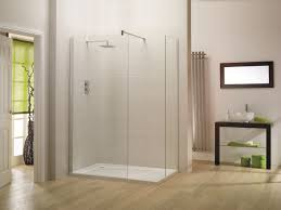 Wood Shower Door by Walk In Shower Dimension Main Consideration To Determine Bathroom