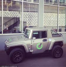 hummer u0027s electric version becomes one of the world u0027s greenest and