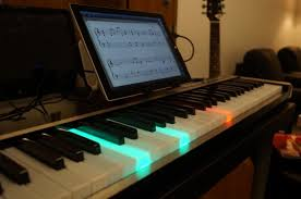 New Illuminating Piano Works With Ipad Or Windows To Light The Way