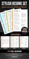Stand Out Resumes 20 Best Creative Resume Templates Examples