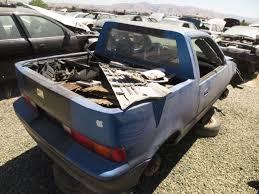 mitsubishi pickup 1990 junkyard find 1990 geo metro amino pickup the truth about cars