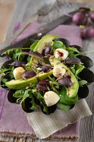 avocat cuisine avocado salad rocket radish and mozzarella recipe tangerine zest