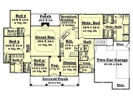 home plans homepw76422 2 454 square feet 4 bedroom 3 colonial style house plan 4 beds 3 50 baths 2500 sq ft plan 430