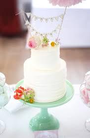 mini hochzeitstorte mini wedding cake mit girlande hochzeitskram style your wedding
