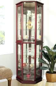 wood curio cabinet with glass doors wood curio cabinet with glass doors corner curio cabinet glass