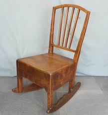 Rocking Chairs For Nursing Elm Nursing Rocking Chair Antiques Atlas