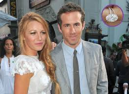 Blake Lively Wedding Ring by Blake Lively Engagement Ring Pics Ryan Reynolds Chose Pink