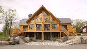 log home floor plans with basement log cabin floor plans with loft and basement youtube