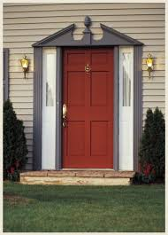 colorfully behr love is a red front door