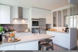 cuisine avec verriere interieur epure et design pour une cuisine verrière à neuilly laurence