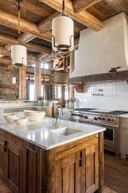 kitchen rustic kitchen black cathedral ceiling one wall kitchen